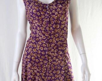 90s floral jumper