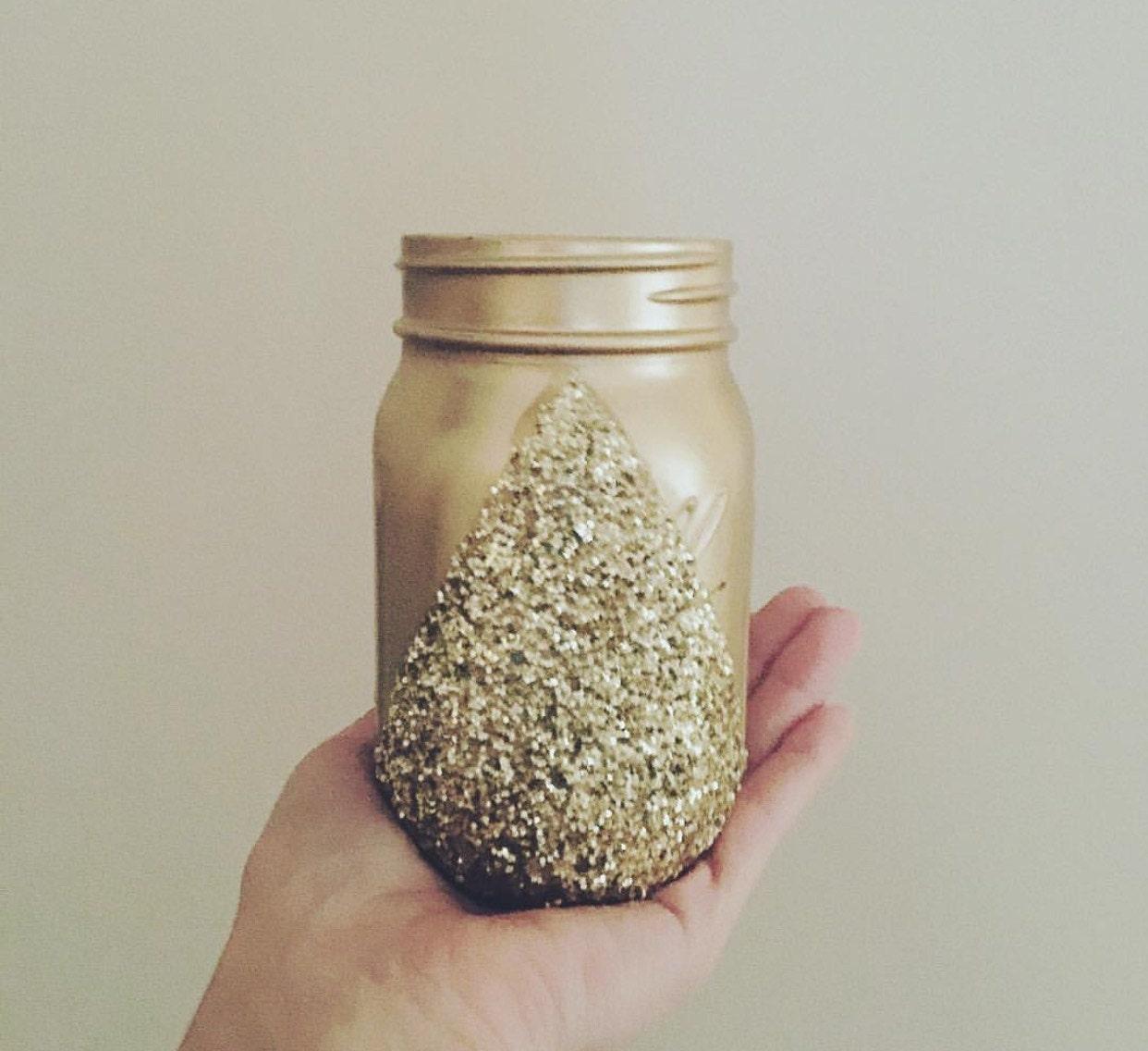 gold glitter mason jars glitter home decor pint mason jars gold glitter mason jars glitter home decor pint mason jars gold mason jar decor decorative mason jars
