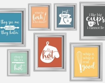Kitchen wall decor | Etsy