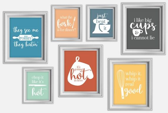 funny kitchen print kitchen decor kitchen wall art funny