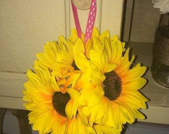 Sunflower Flower Girl Ball