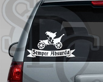 Mr. Toad's Wild Ride Inspired Car, Laptop, or Wall Decal