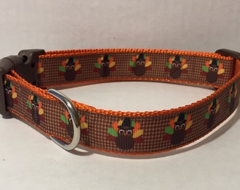 Gobble Gobble Dog Collar