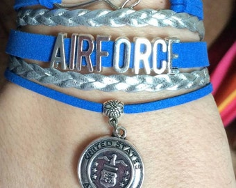Air Force bracelet - USAF - military