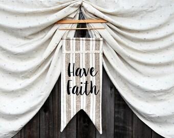 Have Faith Inspirational Banner
