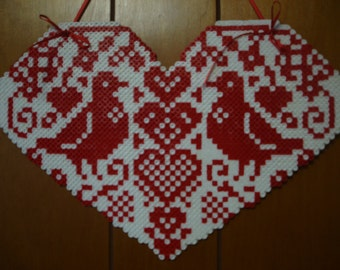 Here is a Perler Bead Valentine Heart for that someone special in your life.