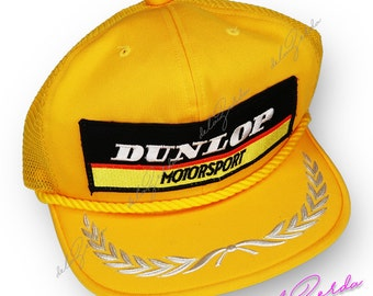 Vintage Dunlop Motorsport Snapback O/S