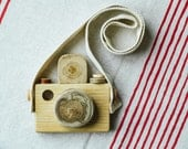 Wooden Baby Toys/ Wooden Toy Camera/ Toys and Game/ Eco-friendly Toy/ Gift for Children