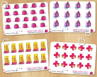 Stickers Sheets to Organize the Life of your Kitty! Also Available in Removable!