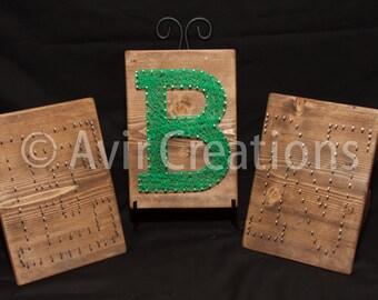 String Along String Art Letter Kits