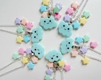 Happy Cloud Kawaii Necklace