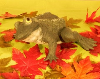 Large Ceramic Frog