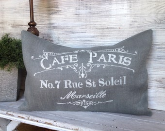 FRENCH STYLE  PILLOW, French Country, Shabby Chic,Decorative, Pillow