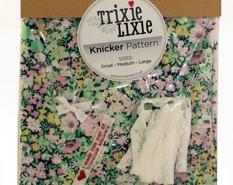 Liberty fabric make your own knickers kit - Thorpe