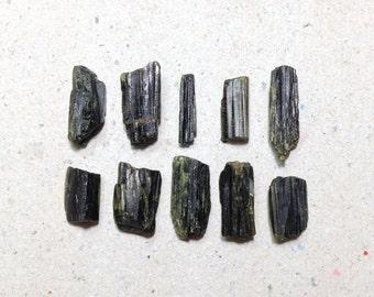 ON SALE - Raw tourmaline, rough tourmaline lot // B*1827