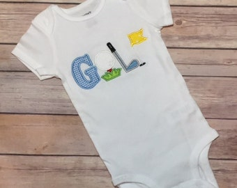 Baby Boy Golf Bodysuit