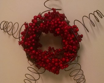 Vintage wreath, star, Christmas decorations, antique wreath, star wreath, fall decorations, Christmas wreath, fall wreath, front door wreath