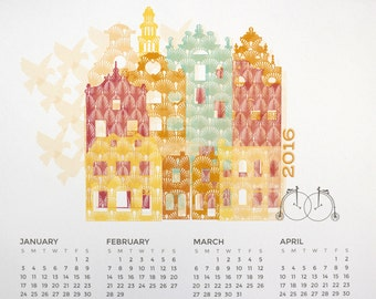 SALE: 2016 Bicycle Calendar