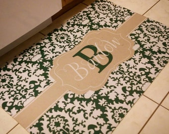 Personalized Kitchen / Bathroom Mat. Perfect Wedding,Housewarming, New  Home, Hostess Gift