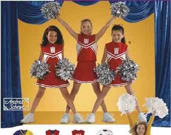 Simplicity sewing pattern 4040 Cheerleading Costumes, Childs and Girls, Kids Costumes - new and uncut