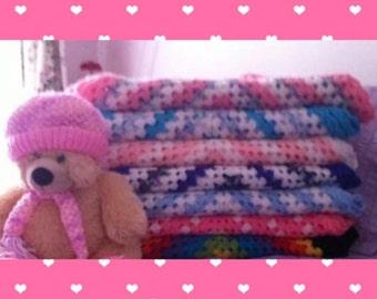Baby Pram/ Cuddle Blankets .