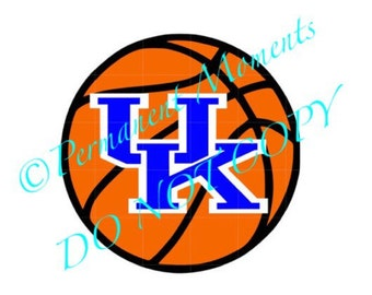 SVG STUDIO University of Kentucky UK Basketball Scalable Vector Instant Download Commercial Use Cutting File Cricut Explore Silhouette Cameo