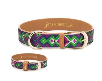 All Bark No Bite - Dog FriendshipCollar & matching bracelet