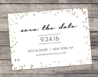 Save The Date - Printable - Digital