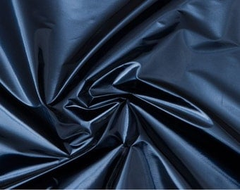 Metallic Blue Vinyl Fabric