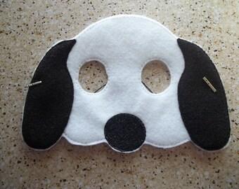 Snoop Dog machine embroidered felt mask