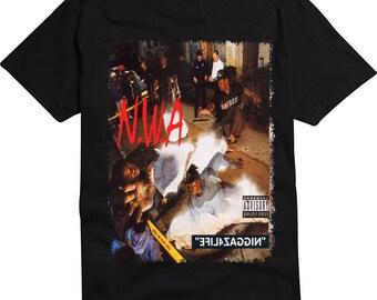 NWA Niggas 4 Life Album T-Shirt or Tank Top