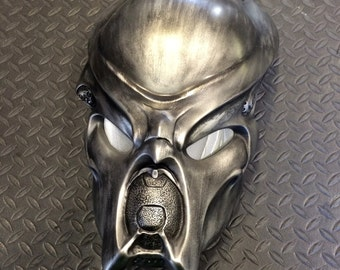 "Predator ""RAW"" SCANNER Bio Helmet Prop Mask Replica Bust Statue1:1 Scale"
