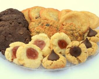 Gourmet Cookie Box, Chocolate Cookies, Oatmeal Cookies, Raisin Cookies, Pecan Cookies, Homemade Cookies, Cookie Selection, Luxury Cookies