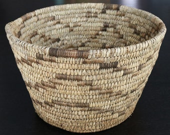 Native American,Woven Basket,Native American Art,Vintage Tohono O'odham Basket, Vintage Papago Basket, Native American Basket, Woven Baskets