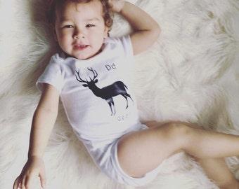 Baby deer onsie