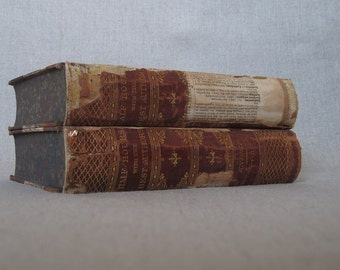 Distressed Tattered Shabby Books