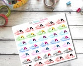 A3 Girls' Night Out High Heels  Stickers for Erin Condren Life Planner