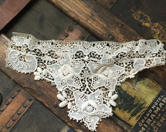 Edwardian Embroidered Blouse Insert