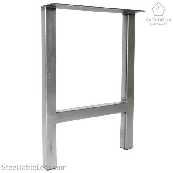 Unique Metal Dining Table Leg H Frame 2x2 Tube