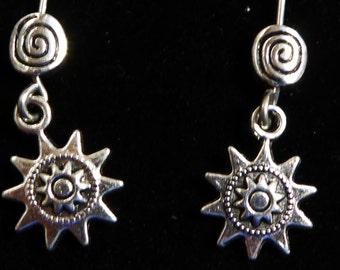 American Girl Doll Summer Compass Earrings