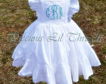 Special Occassion Dress- Easter Dress- Flower Girl Dress- Cute Dress- Birthday Dress- Your choice of color- 6m, 12m,18m,2t,3t, 4, 5, 6, 7, 8