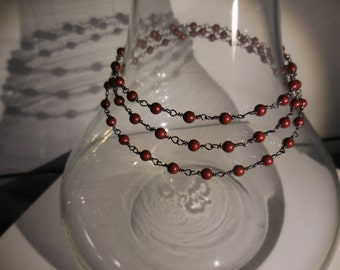 SWAROVSKI pearls necklace 30 inches  long
