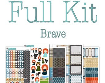 Brave (Merida) Collection - Disney Planner Stickers