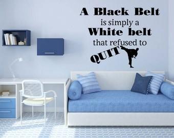 Black Belt Wall Art