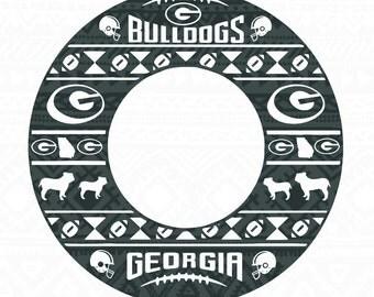 Georgia Bulldogs ,UGA, georgia design, bulldogs svg, bulldogs design, georgia svg, dawgs, georgia bulldogs, uga designsAztec Monogram