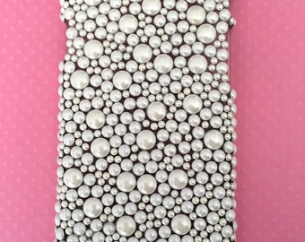 Faux Pearl Iphone 6/6s Slim Line Case