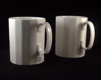 Design No 2: Mug 325ml - Set of 2