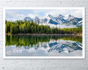Landscape Photography, The Rocky Mountains, mountain picture, wall art print, mount temple, the rockies, mountain photography, banff alberta