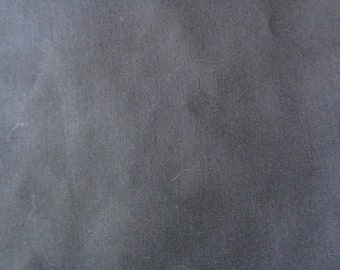 2 1/2 yards black broadcloth