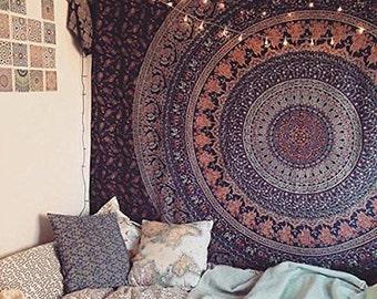 Bohemian Mandala Tapestry Wall Decor